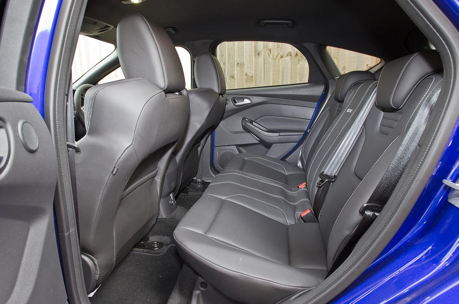 Ford Focus ST rear seats