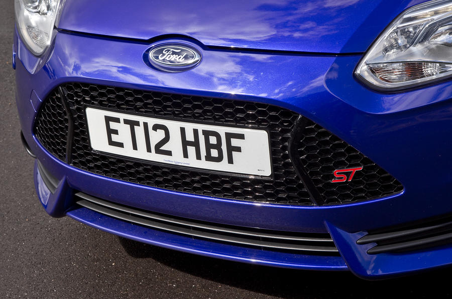 Ford Focus ST front grille