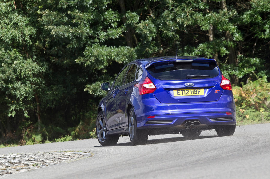 Ford Focus ST rear cornering