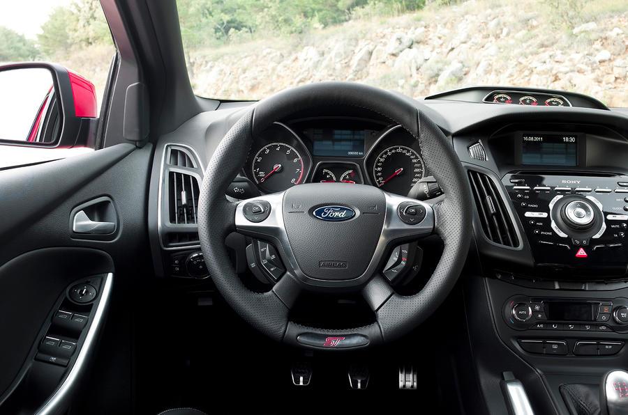Ford Focus ST dashboard