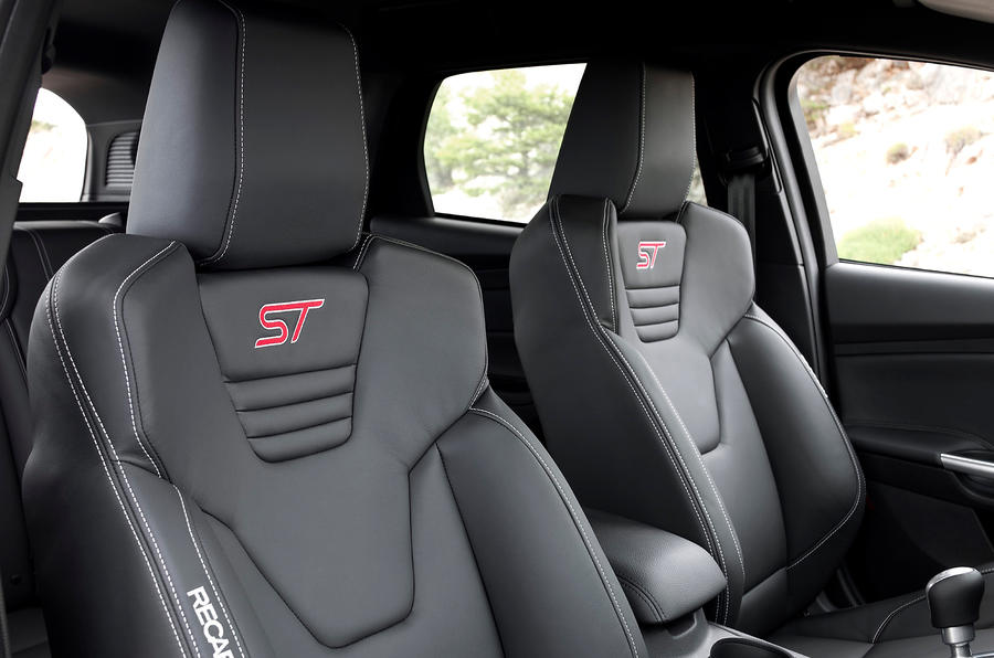 Ford Focus ST Recaro seats