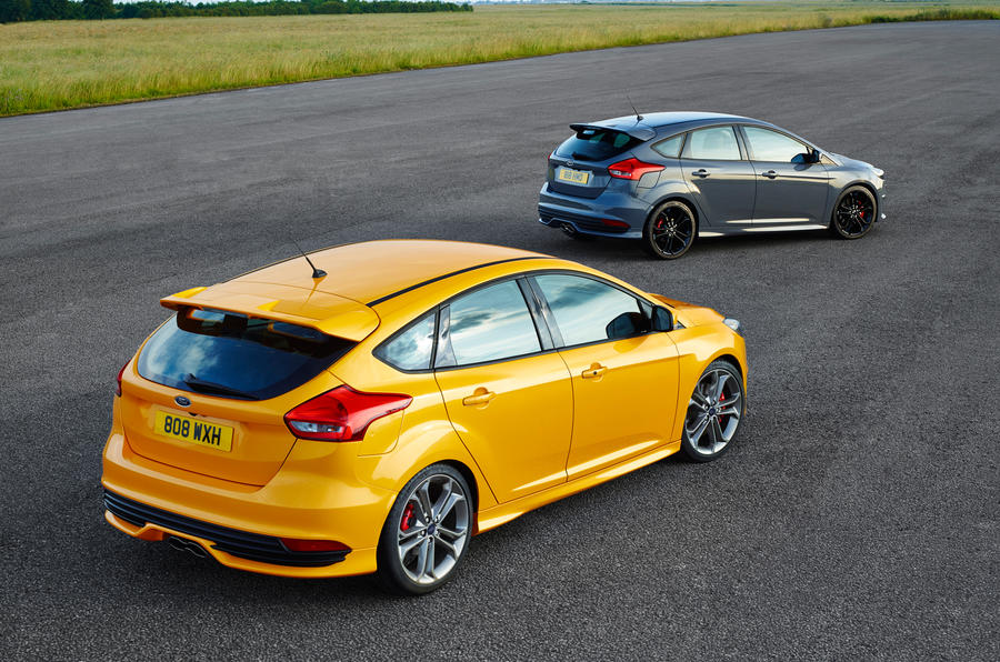 Ford Focus ST rear quarter