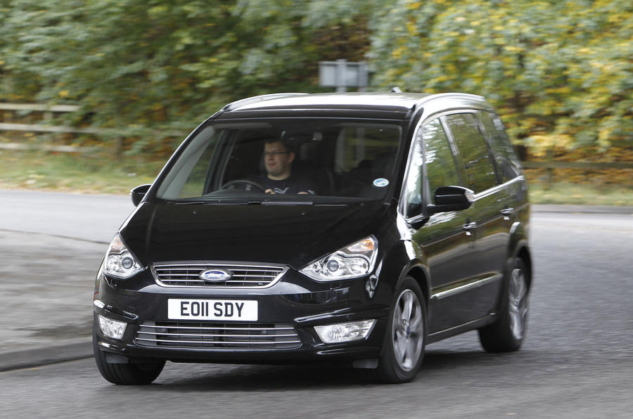 Ford Galaxy cornering