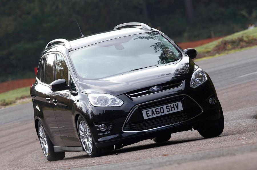 Ford Grand C-Max cornering