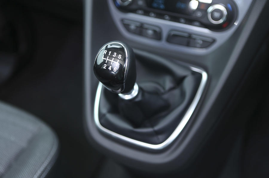 Grand Tourneo Connect manual gearbox