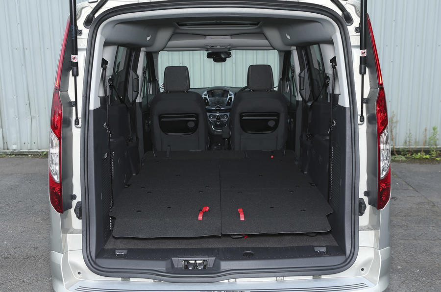 Grand Tourneo Connect seat flexibility