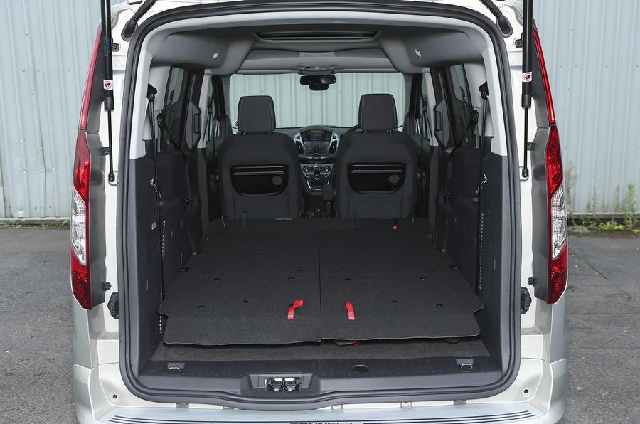 Grand Tourneo Connect seat flexibility