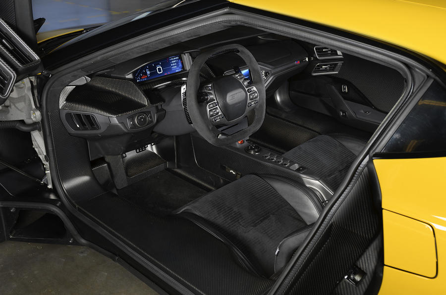 Ford GT dashboard