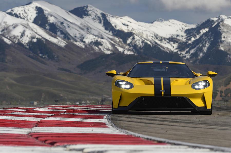 Ford GT front end
