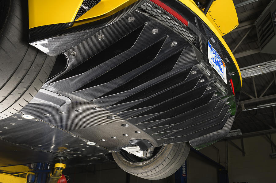 Ford GT rear diffuser