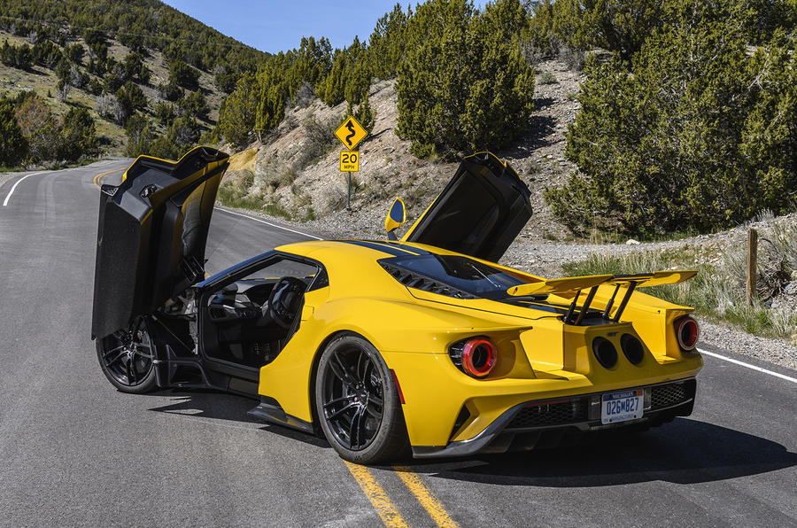 Ford GT rear quarter