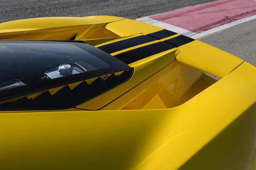 Ford GT rear wing