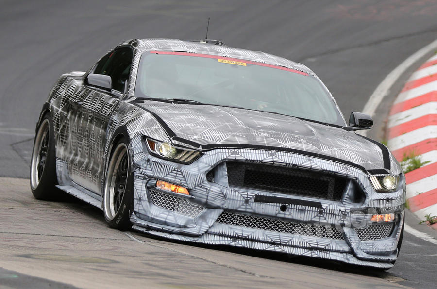New high-performance Ford Mustang undergoes trials at the Nurburgring