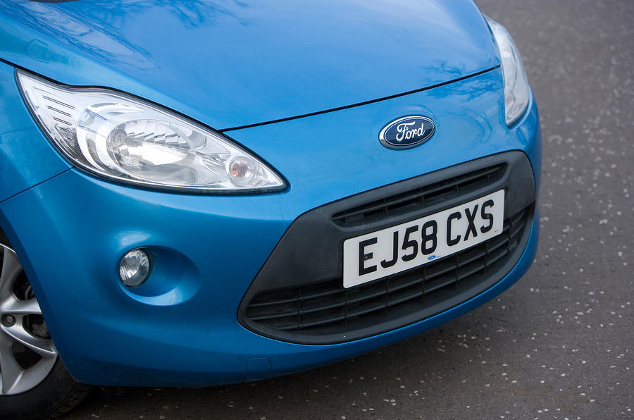 Ford Ka front end