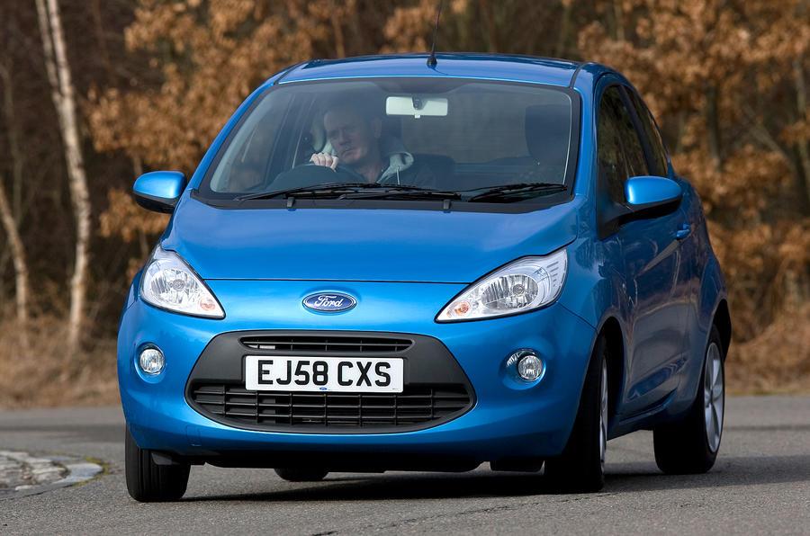 Ford Ka cornering