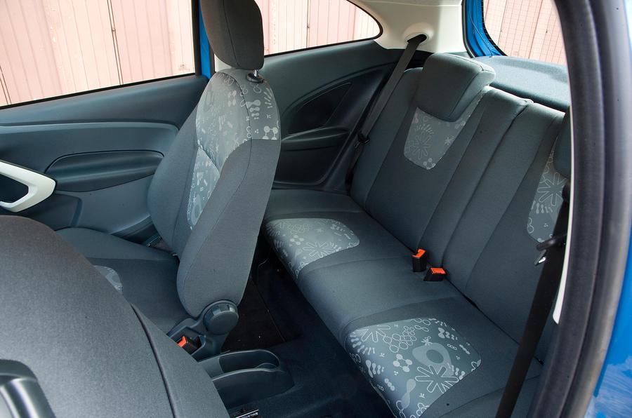 Ford Ka rear seats
