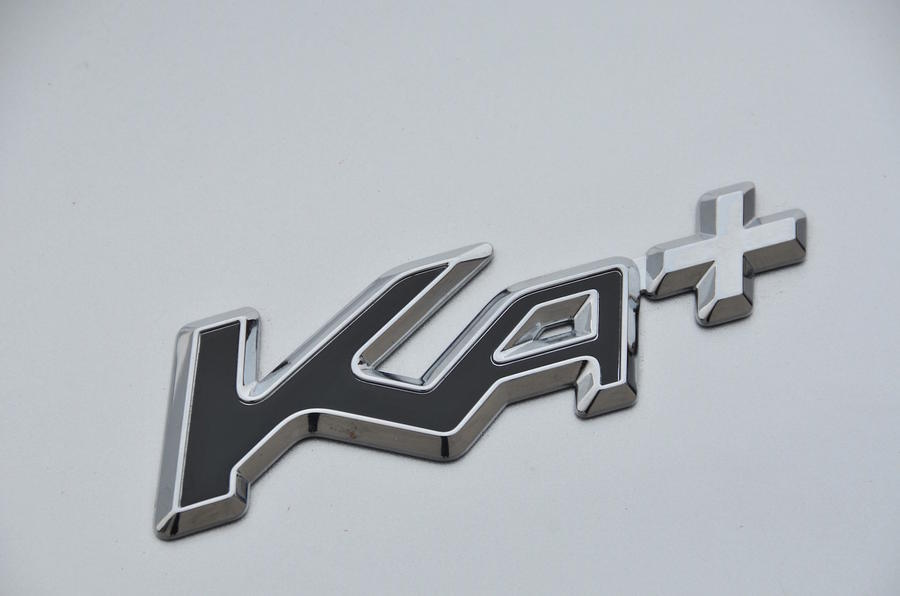 Ford Ka+ badging