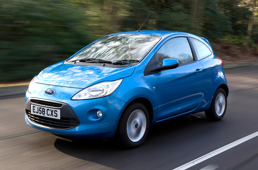 Petrol Andsel Powertrains Are Offered In The Ford Ka