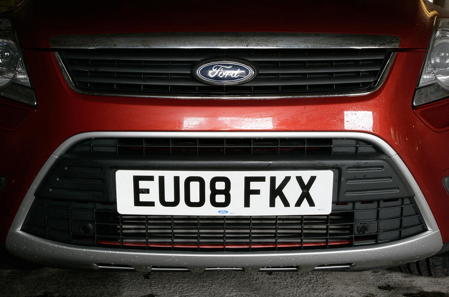Ford Kuga front grille