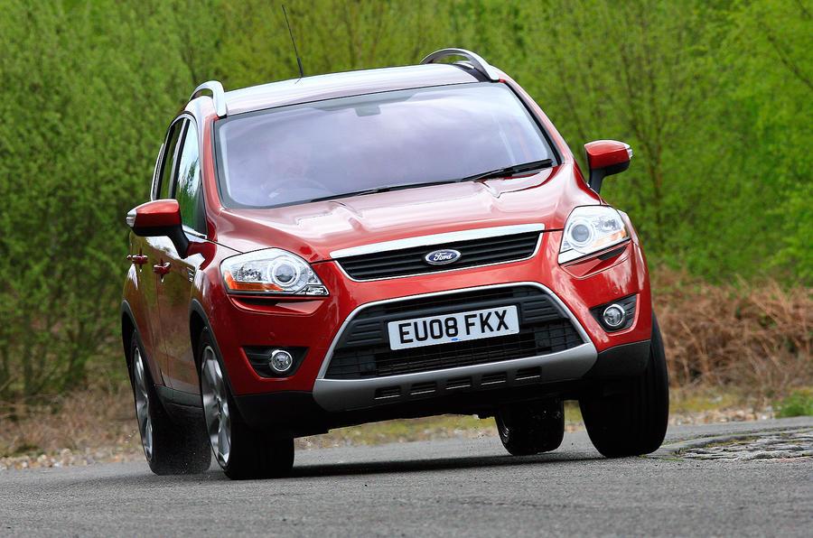 Ford Kuga cornering