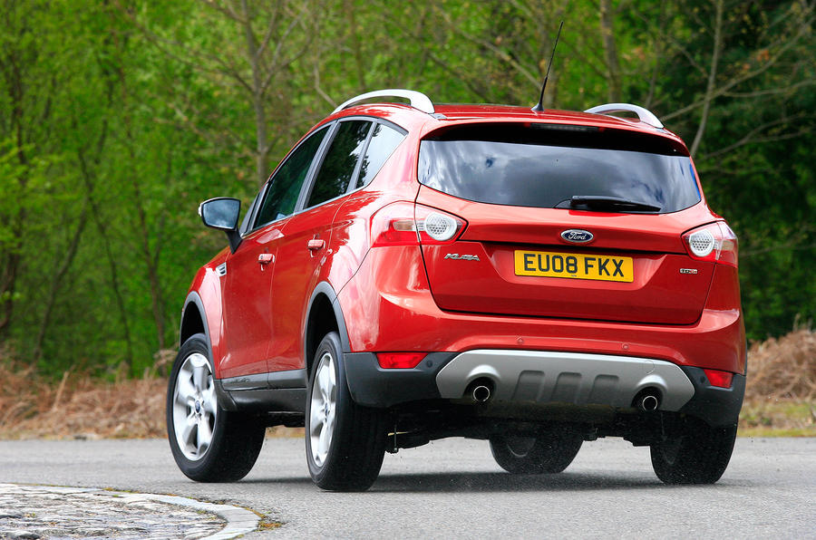 Ford Kuga rear cornering