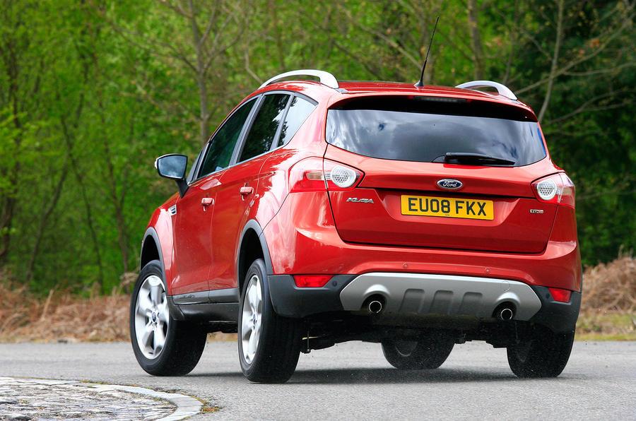 Ford Kuga rear cornering