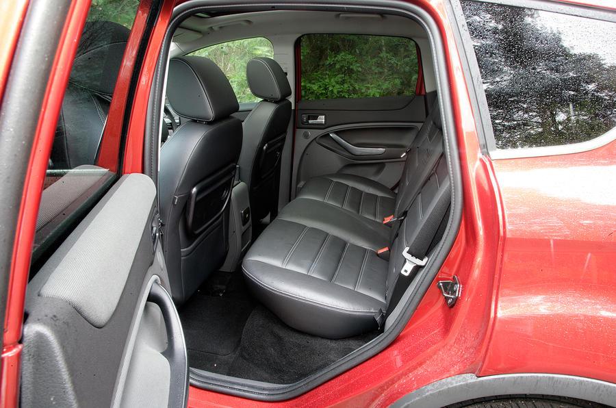 Ford Kuga rear seats