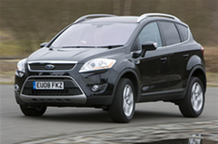 Ford Kuga gets top NCAP