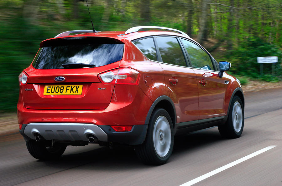 Ford Kuga rear quarter