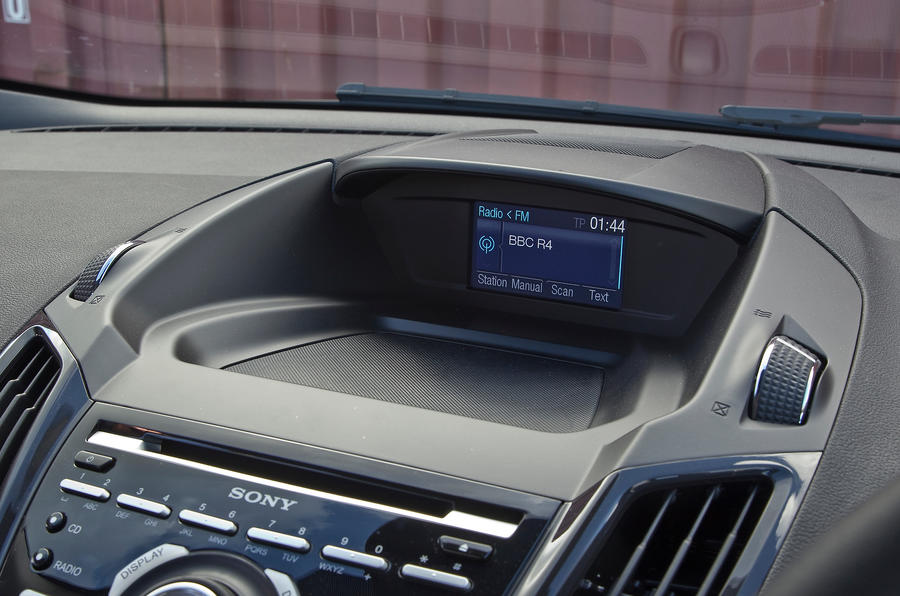 Ford Kuga infotainment display