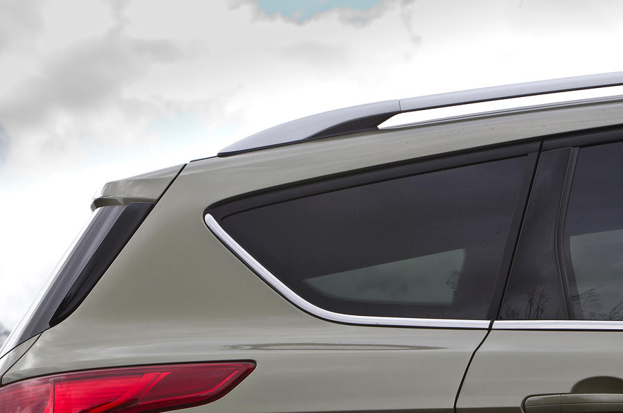 Ford Kuga silver roof rails