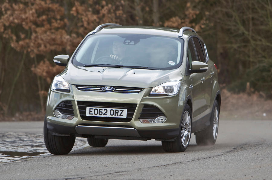 Ford Kuga hard cornering
