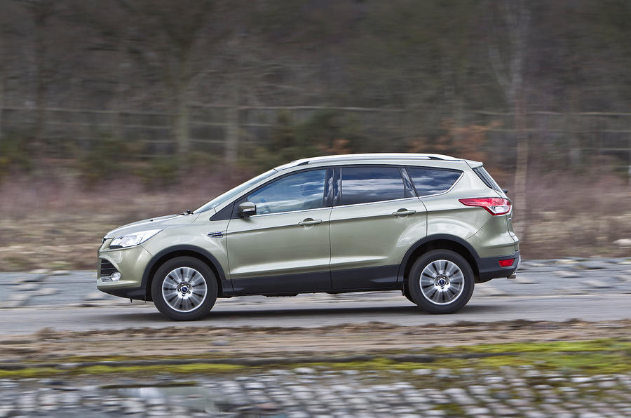 Ford Kuga side profile