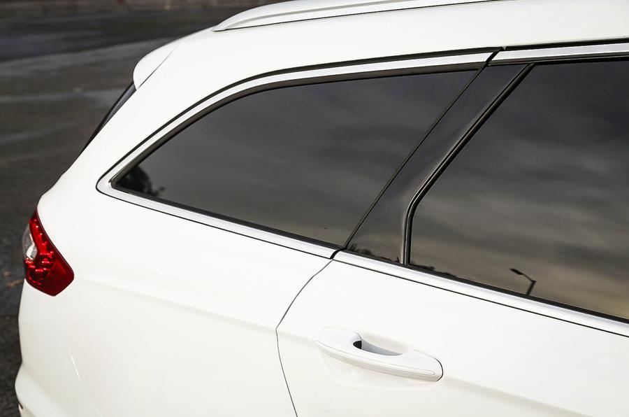 Ford Mondeo rear quarter