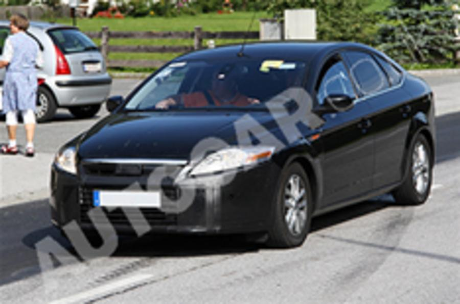 New Mondeo spied testing
