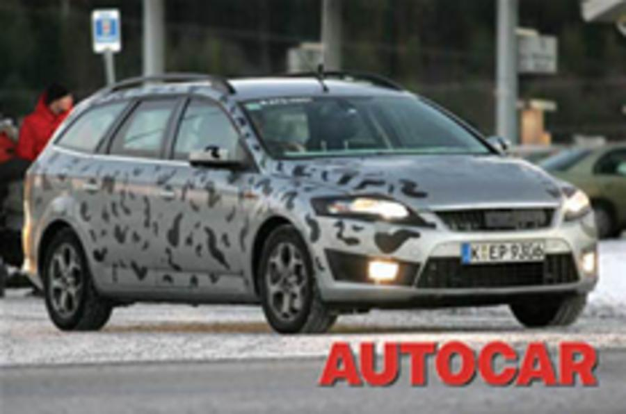 New Mondeo caught in the cold