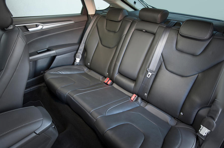 Rear seats in the Ford Mondeo