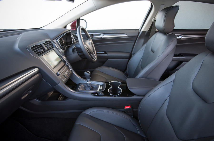 The Ford Mondeo's interior