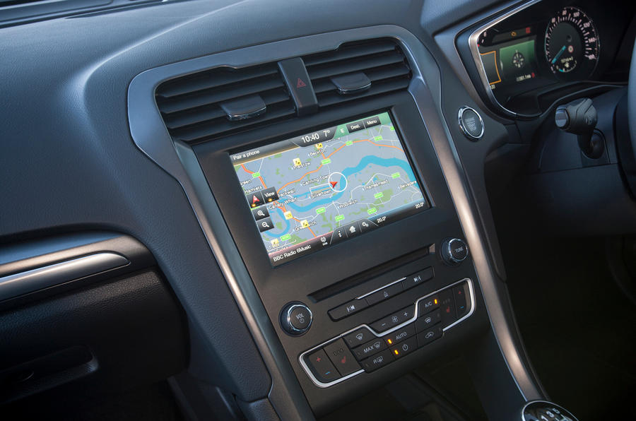 The Sync 2 Ford infotainment system