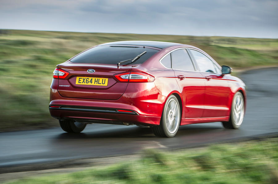 The Ford Mondeo in hatchback mode