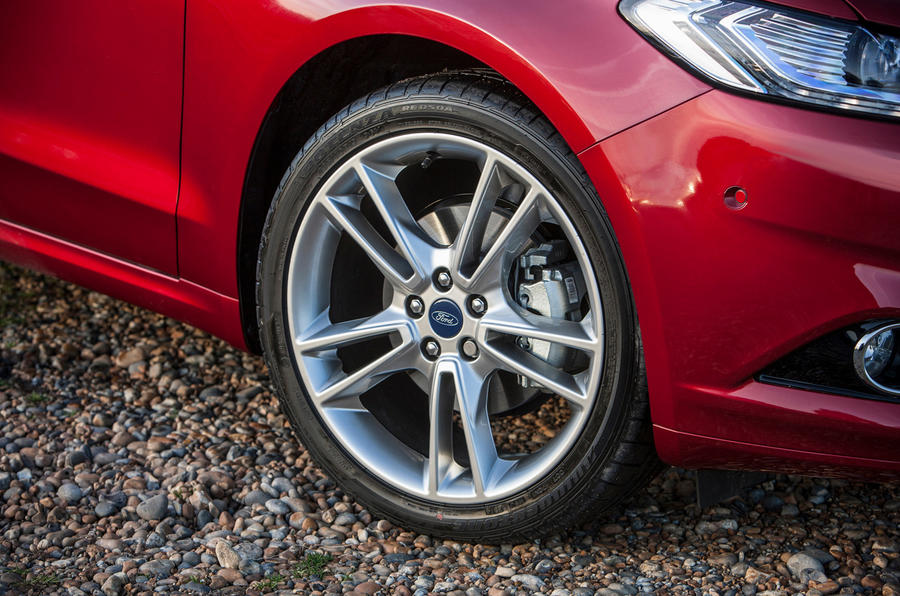 18in alloys are standard on the Ford Mondeo
