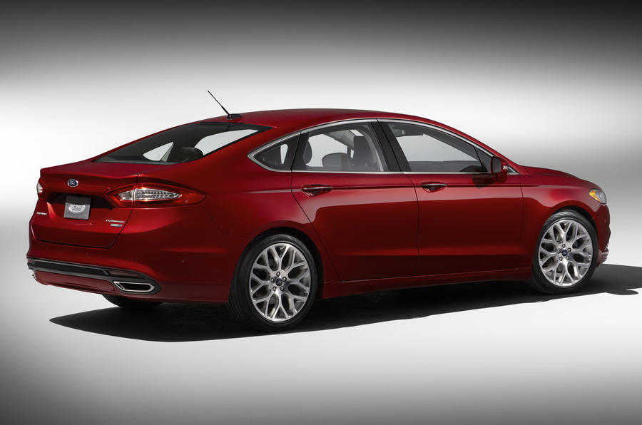 Detroit motor show: Ford Mondeo