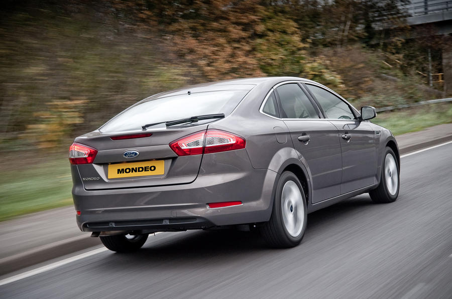 Ford Mondeo Econetic rear