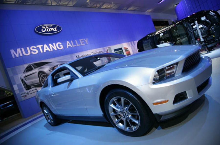 Detroit motor show: 2011 Ford Mustang
