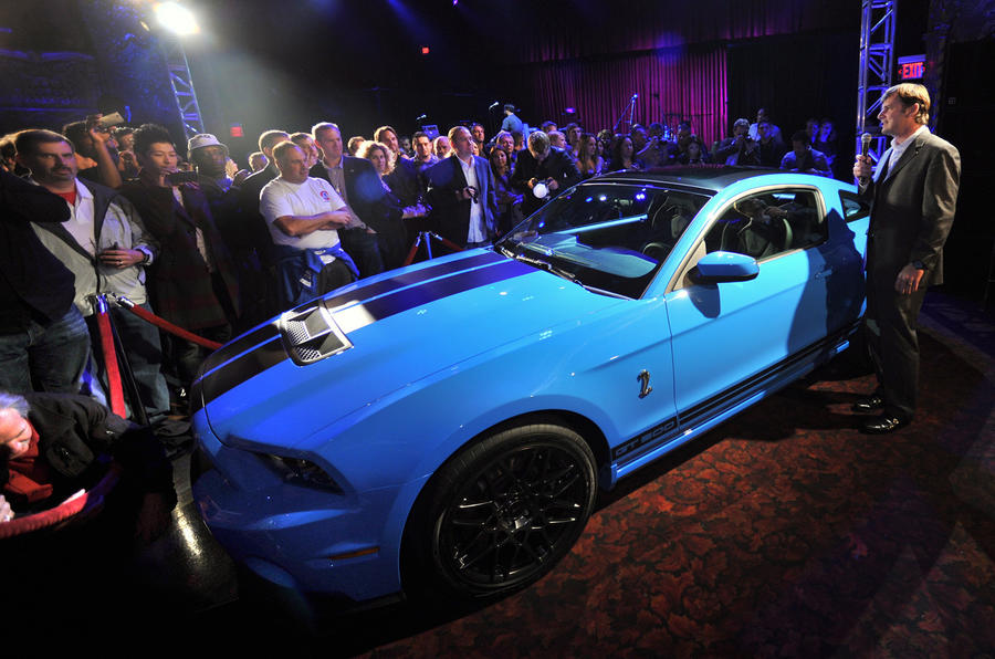 LA show: Ford's 200mph muscle car