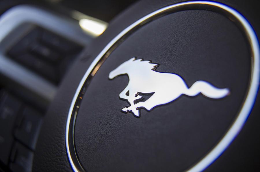 Ford Mustang stallion badge