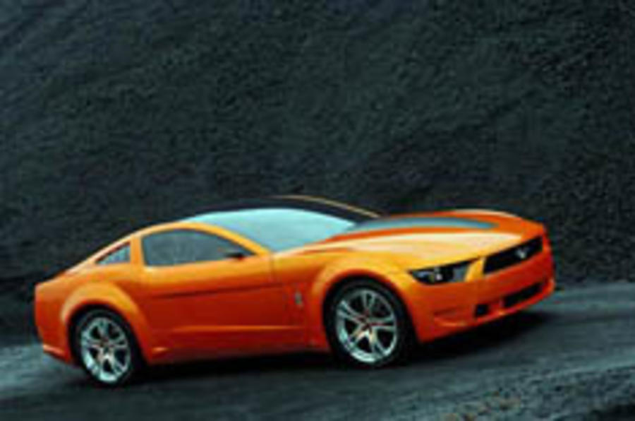 Giugiaro flexes Mustang muscle