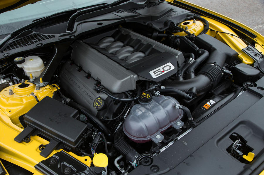 5.0-litre V8 Ford Mustang engine