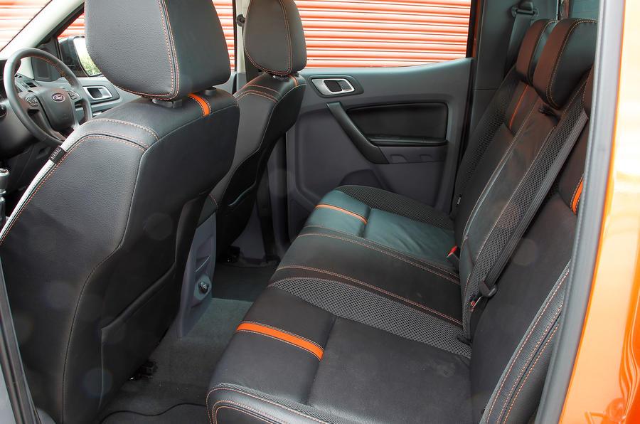 Ford Ranger rear seats