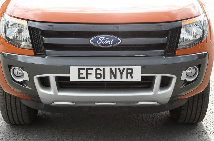 Ford Ranger front grille